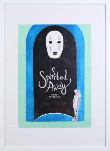 printmakingasgraphicmedium movieposter spiritedaway