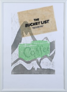 printmakingasgraphicmedium movieposter thebucketlist